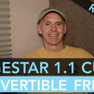 EdgeStar 1.1 CU FT Convertible Refrigerator/Freezer Review