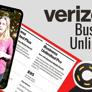 Verizon Business Unlimited Plans Announced for Smartphones, Hotspots, Routers & Tablets