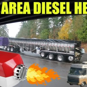 Firing Up The Diesel Heater || RV Living Cheeseburgers