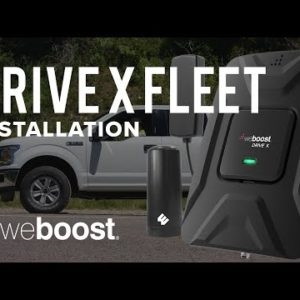 How to Install the Drive X Fleet Cell Phone Signal Booster | weBoost