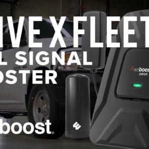 Drive X Fleet - The Standard in Fleet Vehicle Cell Signal Boosters | weBoost