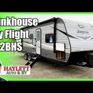 IDEAL Half Ton Bunkhouse!! 2021 Jayco 242BHS Jay Flight Travel Trailer RV Review