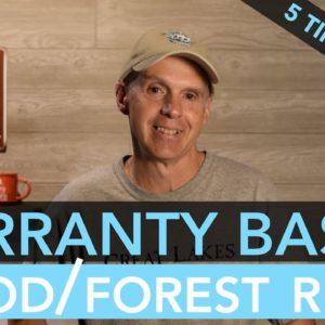 R-Pod/Forest River Warranty Basics - 5 Tips