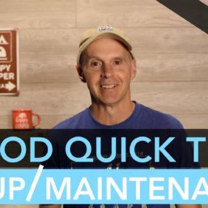 R-Pod RV Quick Tips: Setup & Maintenance Edition