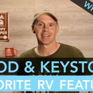 R-Pod vs Keystone Bullet Favorite RV Features