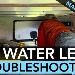 RV Water Leak Troubleshooting