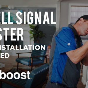 weBoost Installed | Home Complete – Getting Reliable Cell Signal Just Got Easier