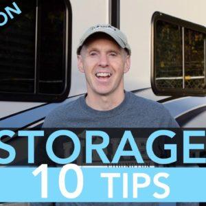 Top 10 RV Off-Season Storage Tips
