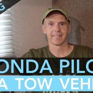 Towing an R-Pod RV with a Honda Pilot