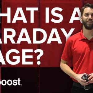 What is a faraday cage? At CES 2016 | weBoost