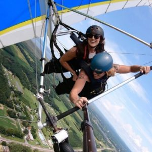 My First Time Hang Gliding - I'M AFRAID OF HEIGHTS - A Day Full of Adventures - GoPro Hero 8 4K