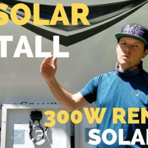 ☀️Renogy 300w Solar Kit Install | How to RV Full Time Tips