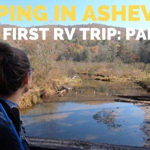 Camping near Asheville NC | Fulltime RV Living | RV Shakedown Part II