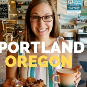Eat and See Portland Oregon /Full TIme RV Living / Travel Vlog