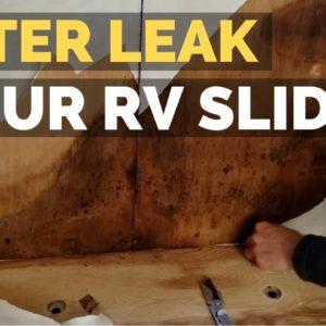 Finding & Repairing an RV Water Leak | DIY RV Remodel | RV living full time