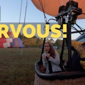 Going on a Hot Air Balloon Ride in Florida | Orlando Florida Vlog