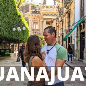 Guanajuato MEXICO City Tour + Mexican Street Food   RVing Mexico Vlog