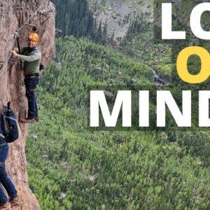 The Craziest Adventure We've Ever Done: Telluride Via Ferrata Travel Vlog