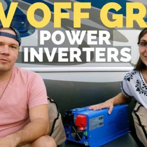 Must Have Upgrade for RV Boondocking | RV Power Inverter