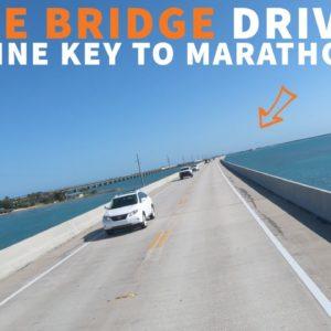 RV DRIVE: 7 Mile Bridge Florida Keys
