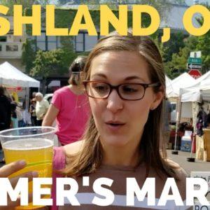 RV Life Visiting Ashland, Oregon | Farmers Market and Food Co-op