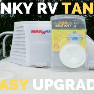 RV Vent Cover Upgrades | 360 Siphon + MaxxAir | DIY RV Remodel | RV Living Full Time