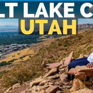 What to EAT & SEE in Salt Lake City Utah | Full Time RV Travel Vlog