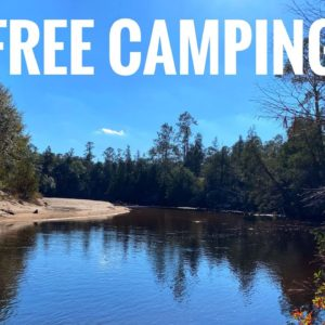 Free Camping at Wilderness Landing Park in FL