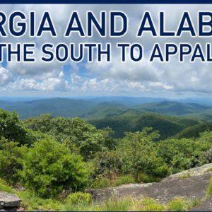 Georgia and Alabama: From the South to Appalachia