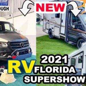 ? LIVE Florida RV SUPERSHOW 2021 | RV TOURS NEW WINNEBAGO EKKO, REVEL + More (Finding our FIRST RV)