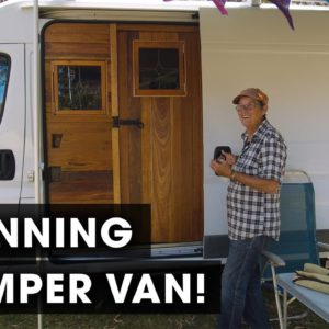 This Woman's Stunning Camper Van is the Best I've Ever Seen!