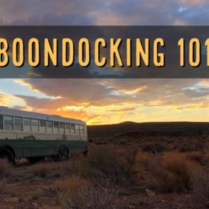 Boondocking 101 - It's Easier Than You Think   RV Miles