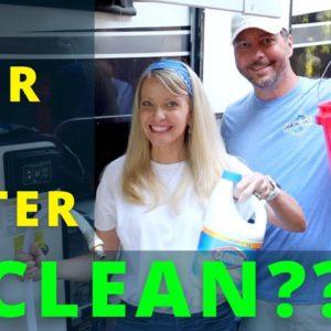 ? RV Fresh Water System Sanitization! (RV Maintenance Series) | RV Living!