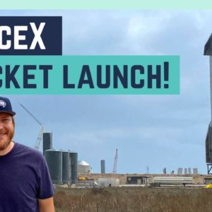 ATTEMPTING TO SEE A SPACEX ROCKET LAUNCH!    RV LIVING