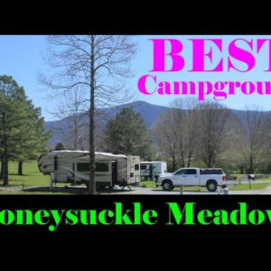 Best Campground in Pigeon Forge / Honeysuckle Meadows RV Park