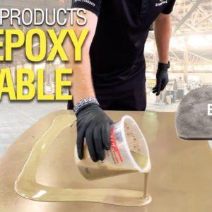Coating RV Table With Epoxy