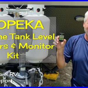 Mopeka LP Tank Check Sensors | PRODUCT REVIEW | RV Propane Tips - (Special Report)