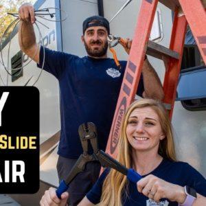 RV Maintenance || RV Cable Slide Repair