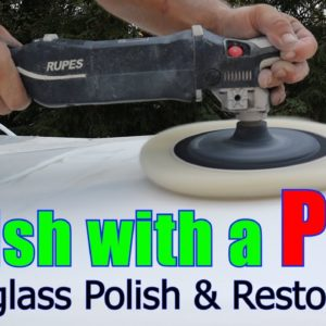 RV Polish and Restoration / Fiberglass RV / Northern Lite Episode 5