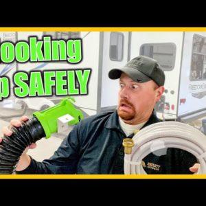 [RV Pro Tip] SAFEST RV Park Hookup Order!!