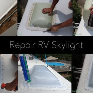 RV Skylight Repair