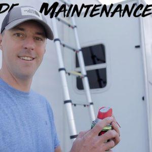 RV Slide Maintenance And Tips!