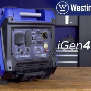 iGen4500 RV-Ready Digital Inverter Generator by Westinghouse