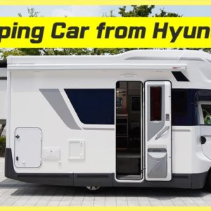 Motorhome from Hyundai that starts around $42K USD. Can you believe it? 1st RV car from Hyundai!