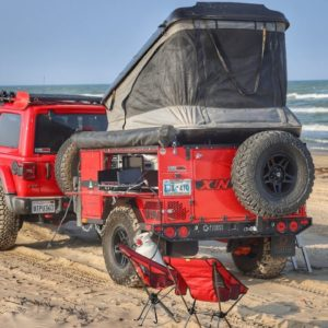 Beach Camping in Texas - Padre Island