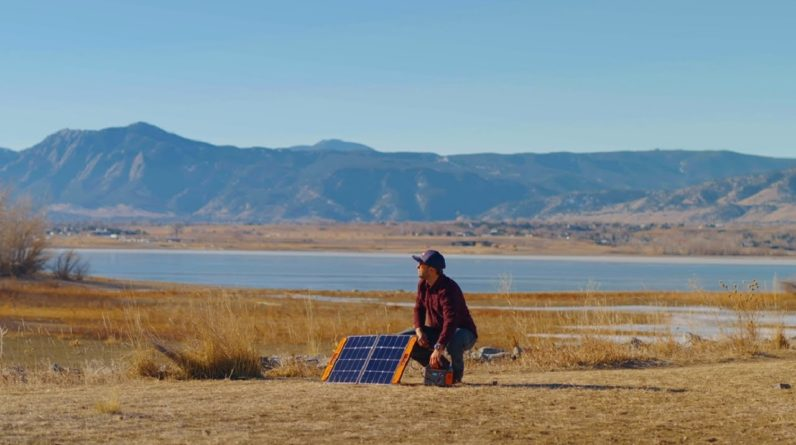 How to set up Jackery SolarSaga 60W solar panel