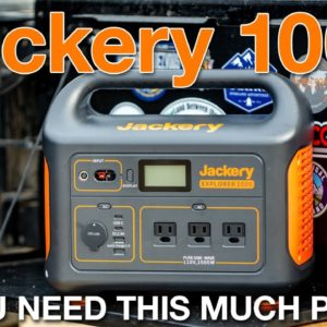 Jackery 1000 - Do you need it for Overlanding?