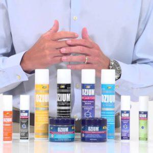 Ozium Sprays, Disks and Gels