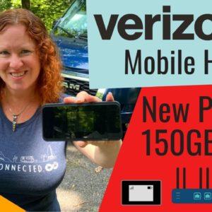 Verizon's New Mobile Hotspot Plans - 150GB Premium Option for $80/mo