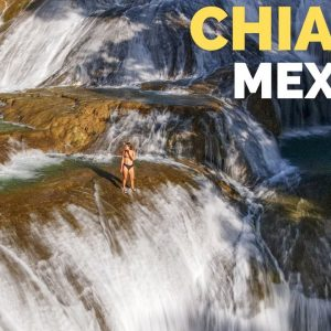 Chiapas is AMAZING! Palenque Ruins & Epic Waterfalls Mexico Travel Vlog
